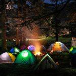 Campingplatz-Aktivitäten für Kinder